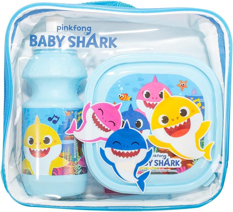 Bolsa de almuerzo para niños o niñas | Divertida idea de regalo para regresar a la escuela (4160-9720 Baby Shark)