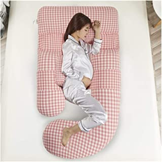 ZSEFV Boyfriend Pillow Maternity Pillow Pregnancy Body Pillow Comfortable, Safe and Durable Sleeping Pillow for Back Belly Hips Legs (Color : B)