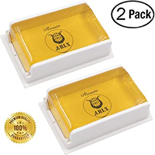 Sound harbor 2 Pack Rosin for Violin Viola and Cello Rosin for Bows (2pack YJ-F01 Rosin)
