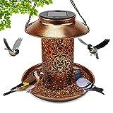 Best Bird Feeders - Solar Bird Feeder for Outside , Hanging Outdoor Review