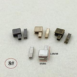 14b8eab1f9b8 Zinc Alloy Metal Zipper 10Pcs 3  5  8  10  Repair Single Open