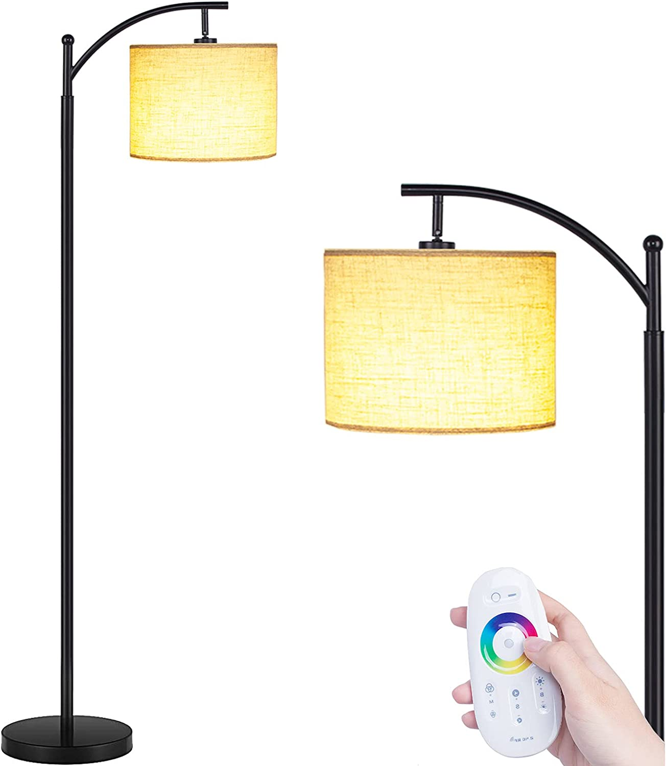 Floor Lamps for Living Max 52% OFF Room supreme Remote LED with Control Lamp