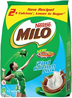 MILO 2in1 ACTIV-GO CALCIUM PLUS, 30g (Pack of 12)