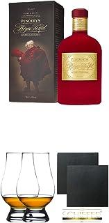 Penderyn Bryn Terfel 41% 0,7 Liter  The Glencairn Glass Whisky Glas Stölzle 2 Stück  Schiefer Glasuntersetzer eckig ca. 9,5 cm Durchmesser 2 Stück
