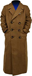 YANGGO Children's Colorful Trench Coat 10th Doctor Costume Kids for Halloween Cosplay
