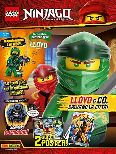 Fumetti Lego Ninjago Magazine N° 28 – Panini Blocks 28 – Panini Comics – Italiano