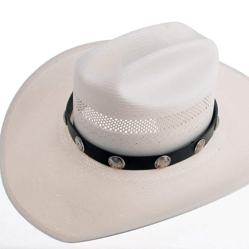 Indian Elegant Head Nickel Hatband Max 68% OFF Navajo Made Style 051 Leather Western