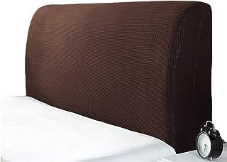 MHCYKJ Cubierta para Cabecero De Cama Protector Funda Cabecera Cabeza Suave Anticolisión Respaldo Protectora A Prueba Polvo (Color : Brown, Size : 180cm/71in)