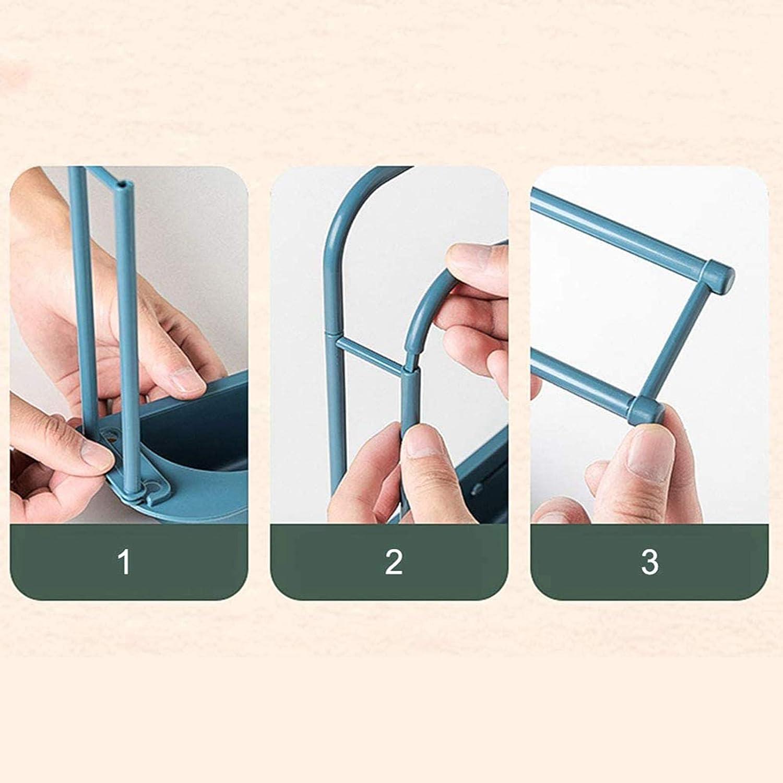 escurridor de jab/ón para cocina Sink Cleaning Utensils escurreplatos de escurridor azul JXING Telescopic Sink Rack Holder Expandable escurridor de esponja ajustable