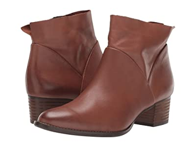 Paul Green Nelly Bootie (Nougat Leather) Women