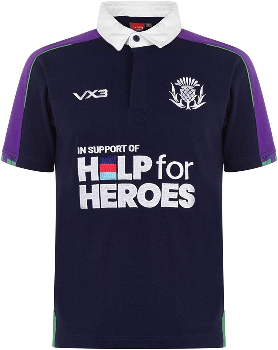 Large special price !! VX-3 Mens Scotland 2019 20 Shirt Rugby Large-scale sale