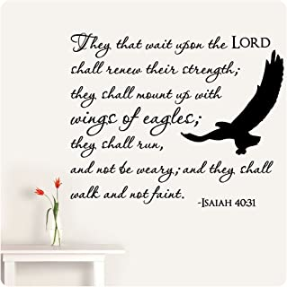 Best bible verse they shall mount up wings eagles Reviews