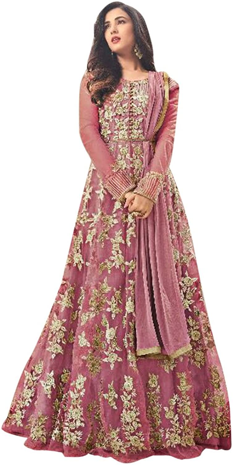 Bollywood Anarkali Dresses for women Salwar Kameez Ceremony Wedding 916