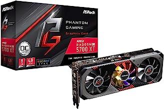 ASRock Phantom Gaming D Radeon RX 5700 XT 8G OC Video Card Model RX5700XT PGD 8GO