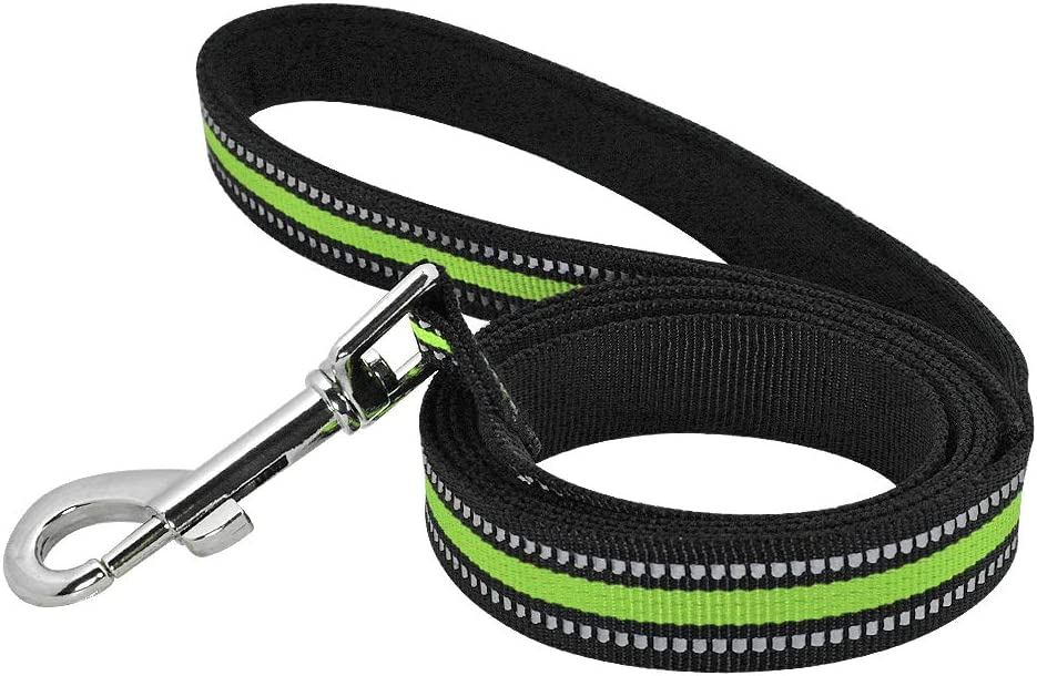 ZMJYH Dog Price reduction Leash Lead Reflective Ultra-Cheap Deals Pet Walking Running Train Nylon
