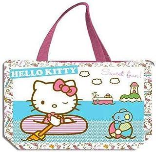 Hello Kitty 2018 Bolsa de Tela Y de Playa, 34 cm, Multicolor