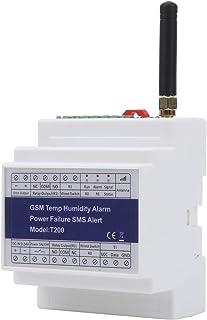 GSM SMS-larmsystem, Fuktighetstemperatur Larm Strömavbrott Varning Statusövervakning Relä Fjärrövervakning Detektor Suppor...