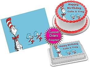 Cat in the Hat Dr Seuss Edible Image Icing Frosting Sheet #8 Cake Cupcake Cookie Topper Sugar Sheet (Full Sheet - 11x17