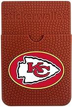 GameWear NFL Kansas City Chiefs Sticker Wallet, Brown, N/A