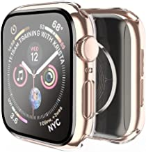 Smiling Case Compatible with Apple Watch Series 6/SE/Series 5/Series 4 40mm with Built in Tempered Glass Screen Protector,...