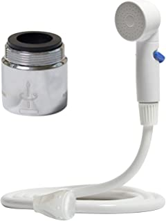 Rinse Ace 94304 Sink Faucet Rinser, White