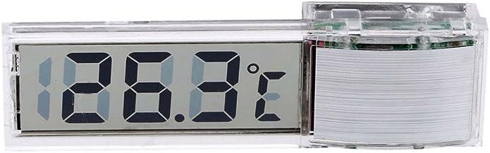 ZREAL Digital LCD Fish Tank Aquarium Thermometer Sensor de Temperatura Temperatura electrónica del Agua