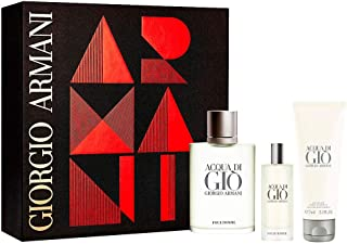 Armani Acqua Di Giò Pour Homme Lote 3 Pz (edt vapo 100 ml + edt vapo 15 ml + gel de ducha 75 ml)