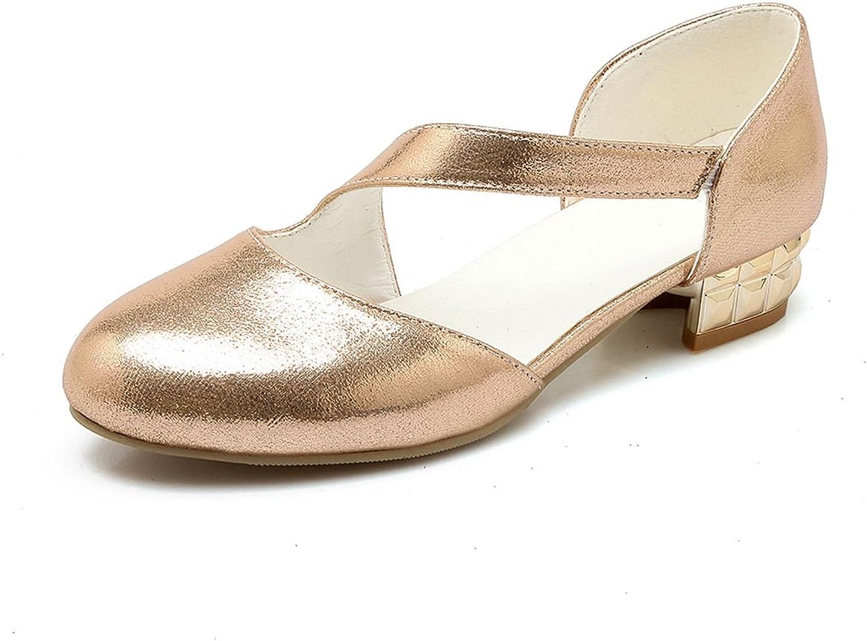 DoraTasia Elegant Shallow Pointed Toe Strap Women's Flat shoes