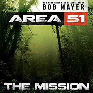 Area 51: the Mission audiobook cover art