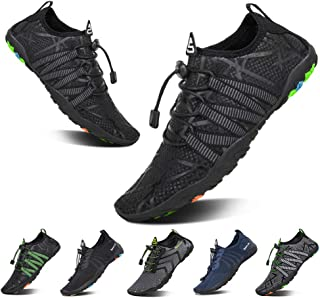 5d4227304 YALOX Men Women s Water Shoes Outdoor Beach Swimming Aqua Socks Quick-Dry  Barefoot Shoes for