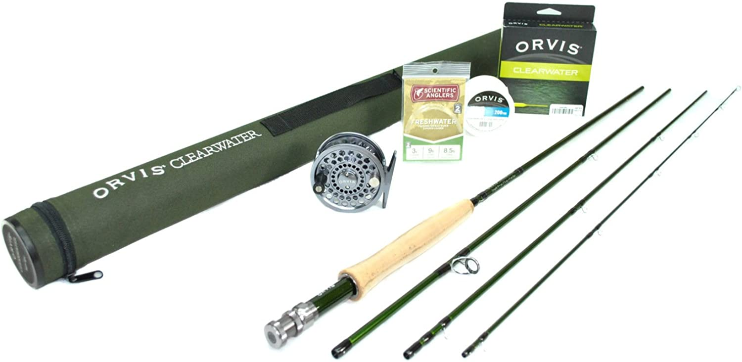 Orvis Clearwater 1074 Fly Rod Outfit, with Battenkill Disc Fly Reel   10'0 , 7WT