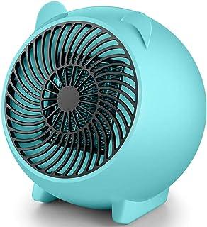 Cajolg Zvvvst Calefactor Portatil, Fast Heater Handy Calentador,Protección contra el sobrecalentamiento Cronotermostato Calefaccion Eléctrico,A