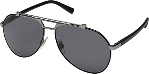 Matte Black/Gunmetal/Polarized Grey