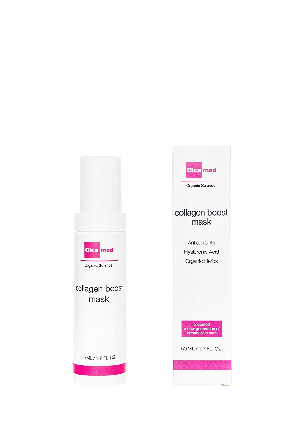 Anti-aging Collagen Boost Facial 新作 人気 Leave Organic トラスト Cicamed on Mask