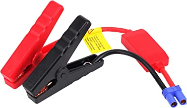 EC5 Jumper Cable, Yeworth Automotive Replacement Car Jumper Cable Alligator Clip Clamp to EC5 Connector for 12V Portable Emergency Car Jump Starter Booster (Alligator Clips to EC5 Connector)