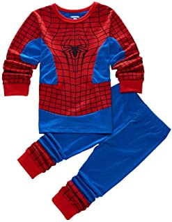 kids spiderman pajamas