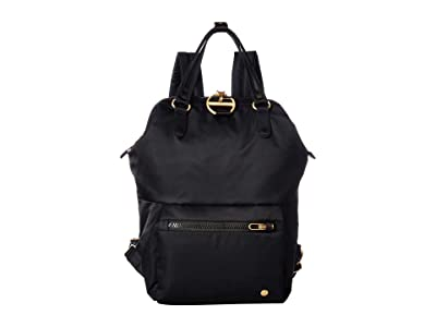 Pacsafe Citysafe CX Anti-Theft Mini Backpack (Black) Backpack Bags