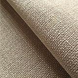 Loome Swale 'Wheat Plain' : Beige Flat-Weave Upholstery Fabric from Fabrics, Sample 10 x 14 cm