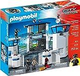 Playmobil Ciudad Acción Policial Cuartel General Con Prisión Edificio Conjunto 9131