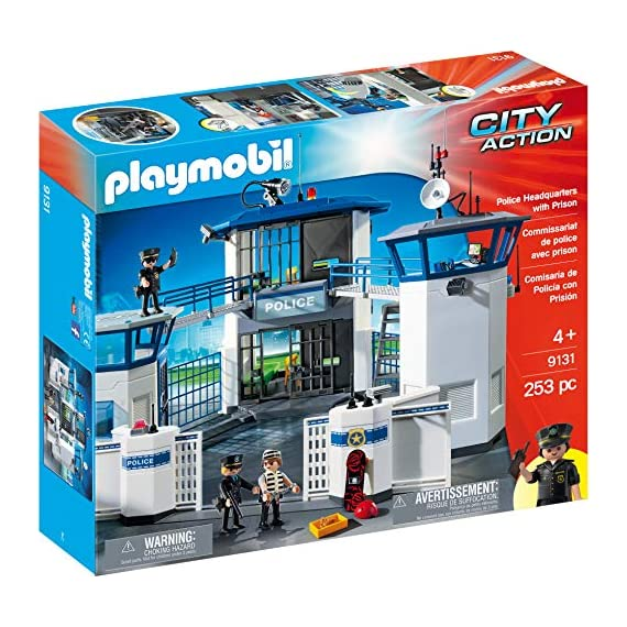 PLAYMOBIL-Police-Headquarters-with-Prison