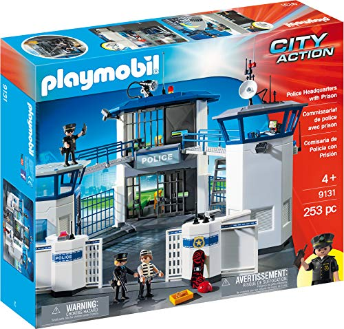 PLAYMOBIL Police Headquarters...