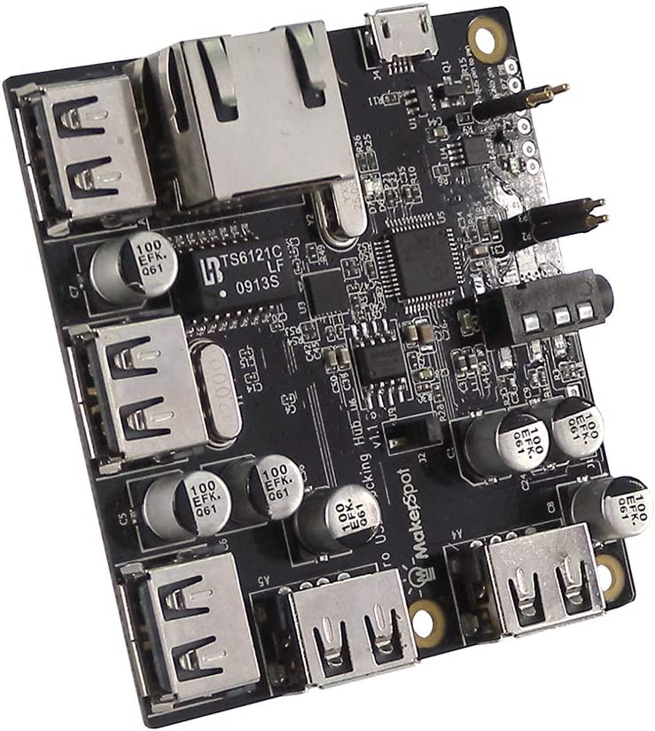 MakerSpot 5-Port Stackable USB Docking Pi for Raspberry Hub Zero Now Baltimore Mall on sale