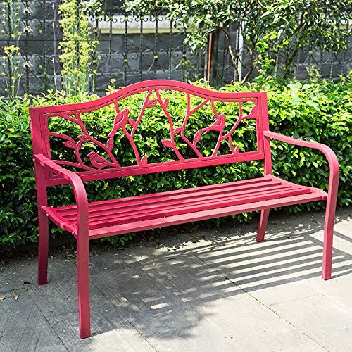 ikea tuinbank rood