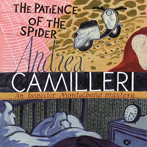 The Patience of the Spider audiobook cover art