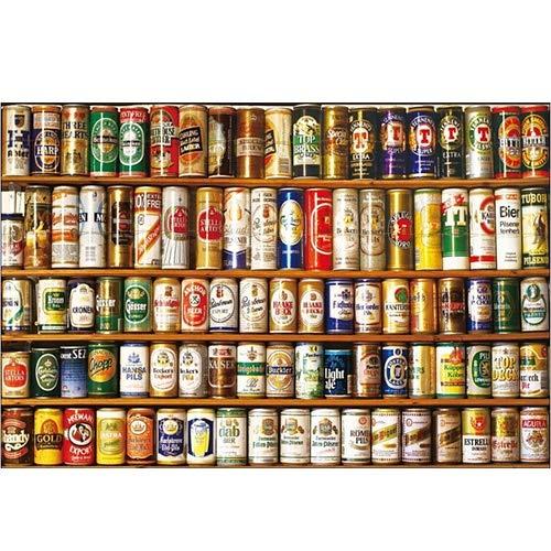 NO BRAND Jigsaw Puzzle de Madera de 500/1000/15000 Piezas de Juguetes educativos de Regalo de la decoración Pintura latas latas de Soda p119 (Size : 1500pc)