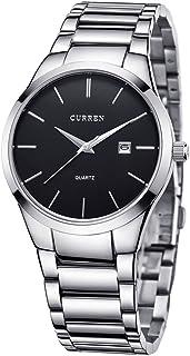 Men's quartz watch stainless steel cu3