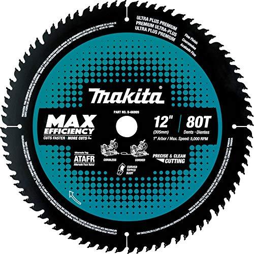 Makita B-66999 12' 80T Carbide-Tipped Max Efficiency Miter Saw Blade