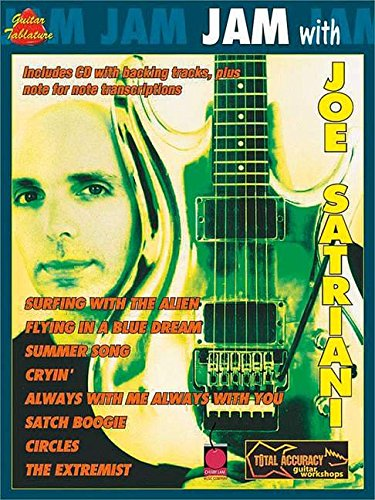 Jam With Joe Satriani Bk/Cd Gtab: Noten, CD für Gitarre