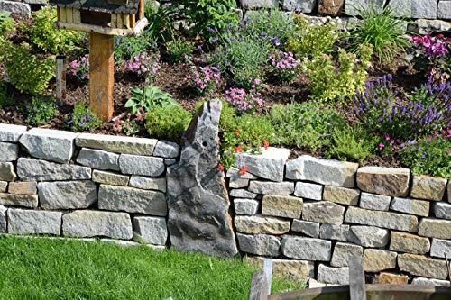 Mauersteine Ruhrsandstein grau/braun 4-25hx15-25bx20-50l cm 1qm