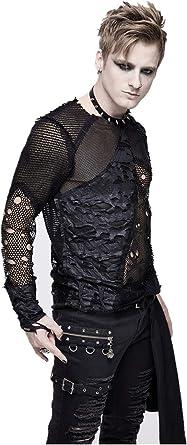 Devil Fashion - Camisa de manga larga para hombre, estilo ...